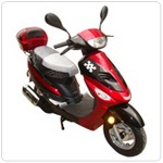 JETMOTO VINEYARD SPORT 50CC SCOOTER