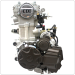 4-Stroke 200-250cc CB water-cooled Vertical Engine