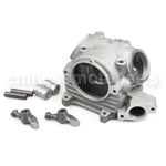 Upgrade Cylinder Head Kit for Yamaha RS100 Big Bore 59-62mm Engine