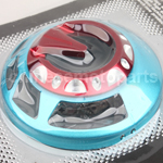 BULE & RED Alloy Aluminium Fan Cover for YAMAHA RS100