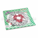 Red 220mm Floating Brake Disc for YAMAHA RSZ Z125 JOG MOPED SCOOTER