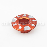 Orange CNC Aluminium Alloy Ignition Lock Cover for YAMAHA FORCE FRC RSZ JOG Z125