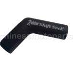 Ryder Clips Rubber Shift Socks Black RSS-BLACK