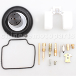 GY6-125/150 Engine Carburetot Repair Kit Type A (24mm Slide Piston Diameter)