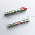 6mm x 32mm EXHAUST STUDS (2 PC) FOR MOTORS WITH GY6 150cc OR QMB139 50cc MOTORS