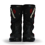 Shock-absorbing Motorcycle Track Outdoor Sports Racing Boots Riding Boots-Black