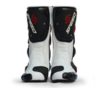 NEW PRO-BIKER Motorcycle Sport Racing Boots Riding Boots White