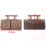 High Performace Brake Pad for 50cc-125cc Dirt Bike