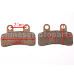 High Performace Brake Pad for 110cc-125cc Apollo Dirt Bike