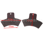 High Performace Brake Pad for 250cc ATV