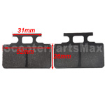 Disc Brake Pads for 50cc-125cc Dirt Bikes