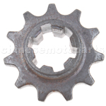11-Teeth Reduction Gear for 2-stroke 47cc(40-6) / 49cc(44-6) Pocket Bike