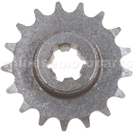 17-Teeth Reduction Gear for 2-stroke 47cc(40-6) / 49cc(44-6) Pocket Bike