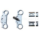 Apollo Triple Clamps Assembly for 50cc-125cc Dirt Bike