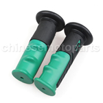 "7/8"" 22mm Universal Hand Grips Handlebar for Honda CB 599 600 400 1000 R Green"