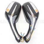 8mm Rear view Mirror GY6 Moped Scooter 50cc 150cc 250cc Universal Pair