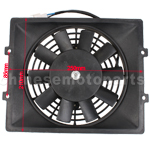 Fan for 250cc Go Kart & Scooter