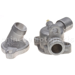 Thermostat Upper & Under Body for CF250cc Water-cooled ATV, Go Kart, Moped & Scooter