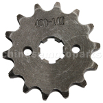 420 14-Tooth 17mm Engine Sprocket for 50cc-125cc ATV, Dirt Bike & Go Kart