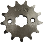 428 13-Tooth 17mm Engine Sprocket for 50cc-125cc ATV, Dirt Bike & Go Kart
