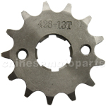 428 13-Tooth 20mm Engine Sprocket for 50cc-250cc ATV, Dirt Bike & Go Kart