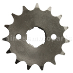 428 15-Tooth 20mm Engine Sprocket for 50cc-250cc ATV, Dirt Bike & Go Kart