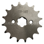 428 16-Tooth 17mm Engine Sprocket for 50cc-125cc ATV, Dirt Bike & Go Kart