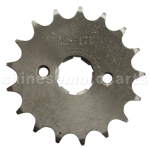 428 17-Tooth 20mm Engine Sprocket for 50cc-250cc ATV, Dirt Bike & Go Kart