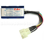 6-pin Performance CDI for GY6 50cc-150cc ATV, Go Kart, Moped & Scooter