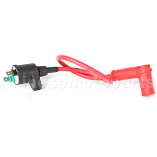 Silica Gel Ignition Coil for GY6 50cc-150cc ATV, Go Kart, Scooter & Motorcycle