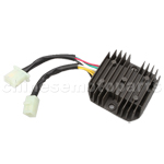 6 wire Double Plug Voltage Regulator for CH150cc ATV, Go Kart, Moped & Scooter