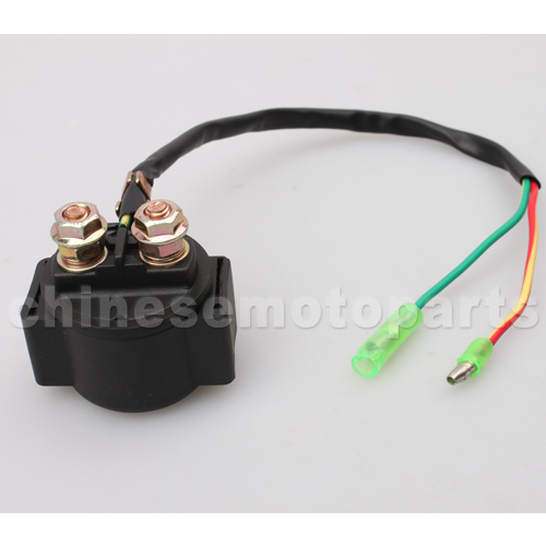 L on Relay Solenoid For Scooter Atv Go Kart With 50cc