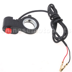 Head Light Signal Switch for ATV, Dirt Bike, Go Kart & Electric Scooter