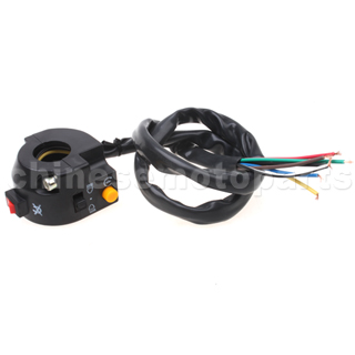 3 function Left Switch Assembly for 50cc-250cc ATV, Dirt Bike & Go Kart
