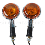 1 Pair Turn Indicator Signal For Yamaha Virago XV1100 1985-1999