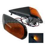A Set Turn Signal Indicator Light For YAMAHA TZR250 TZR 250 FZR400 FZR 400 Black