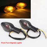 Amber Front Turn Signals Blinker Light Smoke For HONDA CBR600RR CBR 600 RR 2007-2013