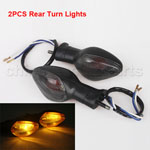 2pcs of Rear Turn Signals Light Smoke For HONDA CBR 600RR 2007-2013 1000RR 2008-2013