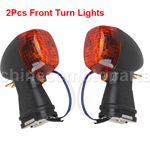Amber Front & Rear Turning Signal Light for KAWASAKI NINJA ZXR-10R ZXR-12R
