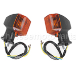 Amber Front & Rear Turning Signal Light for KAWASAKI ZXR250 ZXR 250 ZXR400 ZXR 400