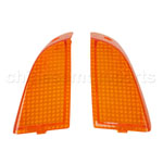 Amber Front Turning Signal Light cover for KAWASAKI ZZR400