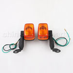 Amber Rear Turning Signal Light with Holder for YAMAHA TTR250