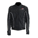 PRO-BIKER BLACK MOTORCYCLE RACING JACKET SPORT BIKE SIZE M/L/XL/XXL NEW