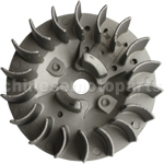 18-Fin Flywheel for 2-stroke 47cc & 49cc Pocket Bike