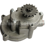 17-Teech Transmission Gear Box for 2-stroke 43cc(40-5) & 49cc(44-5) Pocket Bike