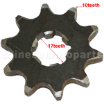 10-Teeth Front Sprocket for ATV, Dirt Bike & Go Kart