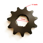 11-Teeth 17mm Front Sprocket for ATV, Dirt Bike & Go Kart