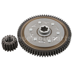 69 Teeth Primary Driven Gear With 17 Teeth Driving Gear Set for 50cc-125cc ATV,Dirt Bike & Go Kart