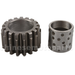 17-Teeth Driving Gear for 50cc-125cc ATV,Dirt Bike & Go Kart