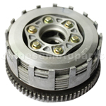 Clutch Assembly for CB250cc Water-cooled ATV, Dirt Bike & Go Kart